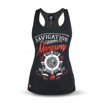 Women's vest top in black, size XS