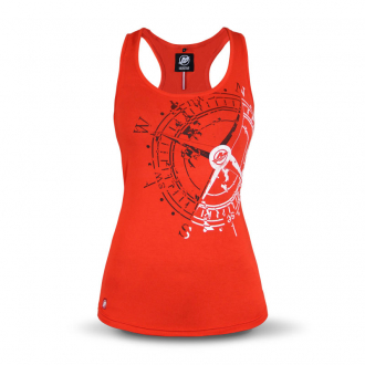 Women's vest top in red, size XXL