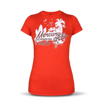 Damen T-Shirt in rot