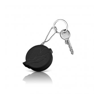 Nøkkelring som flyter, svart