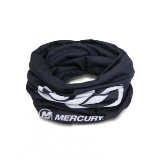 Tubular scarf in black