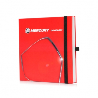 Notebook in red