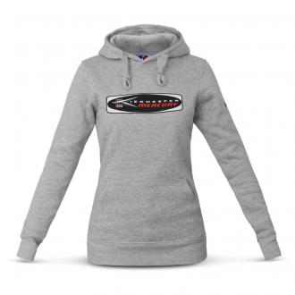 Sweat à capuche pour femme avec logo traditionnel