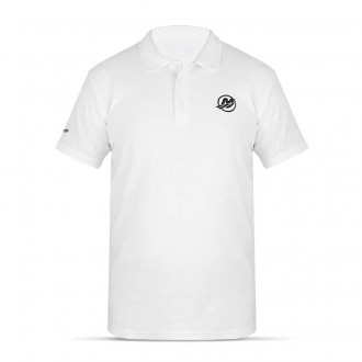 Men´s polo shirt in white