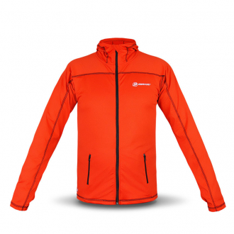 Fleecejacke in rot