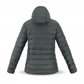 Women´s hooded jacket in grey/orange