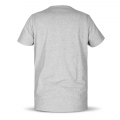 Basic T-Shirt in grau