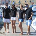 Damen Polo-Shirt in schwarz
