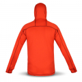 Fleece jacket in red